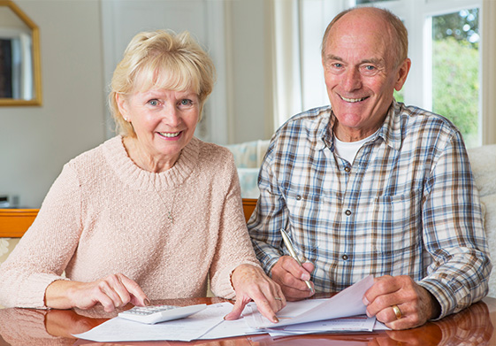 Senior couples and their loved ones benefit from estate planning